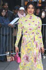 PRIYANKA CHOPRA at Good Morning America in New York 04/26/2018