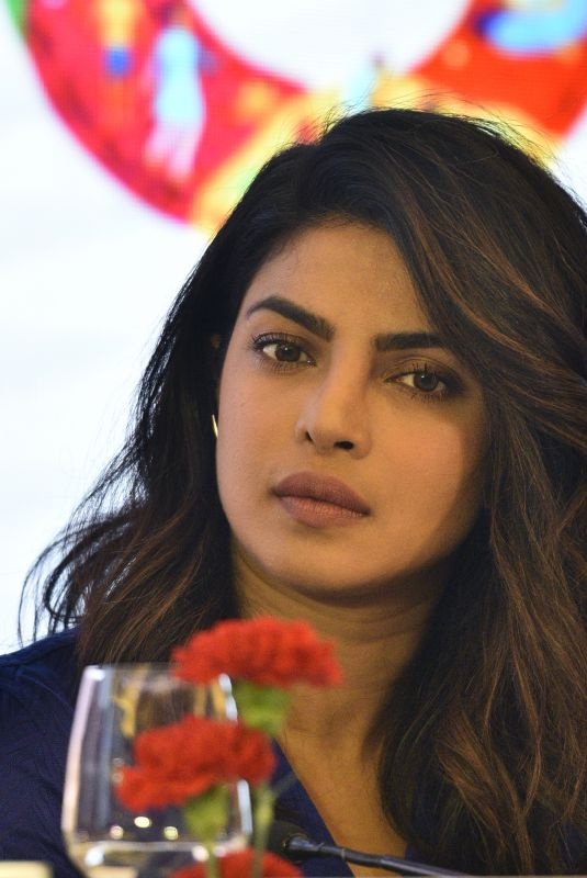 PRIYANKA CHOPRA at Partners Forum 2018 in New Delhi 04/11/2018