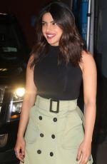 PRIYANKA CHOPRA Leaves Live with Kelly and Ryan Show in New York 04/26/2018