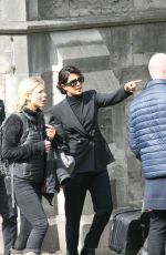 PRIYANKA CHOPRA on the Set of Quantico in Dublin 04/05/2018