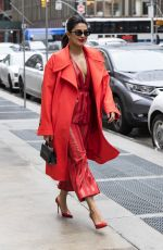 PRIYANKA CHOPRA Out and About in New York 04/25/2018