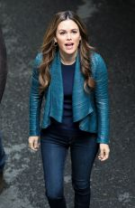 RACHEL BILSON on the Set of Take Two in Vancouver 04/18/2018