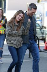 RACHEL BILSON Out for Lunch in Vancouver 04/28/2018