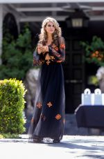 RACHEL MCCORD on the Set of a Photoshoot in Hollywood 04/18/2018