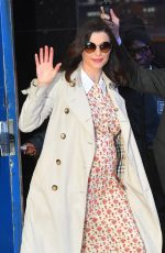 RACHEL WEISZ Arrives at Good Morning America in New York 04/25/2018