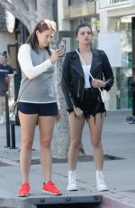 REBECCA BLACK Out in Larchmont Village in Los Angeles 04/25/2018