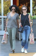 REBECCA GAYHEART Out Shopping in Los Angeles 04/14/2018