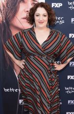 REBECCA METZ at Better Things FYC Event in Los Angeles 04/19/2018