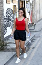 REBEKAH VARDY Out and About in Shoreditch 04/19/2018