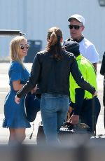 REESE WITHERSPOON at a Heliport in Santa Monica 04/20/2018