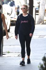 REESE WITHERSPOON Leaves a Gym in Los Angeles 04/09/2018