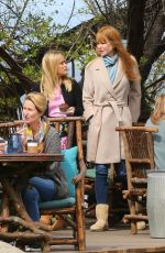 REESE WITHERSPOON, MERYL STREEP and NICOLE KIDMAN on the Set of Big Little Lies in Monterey 04/11/2018
