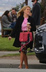 REESE WITHERSPOON on the Set of  Big Little Lies in Monterey 04/11/2018