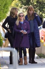 REESE WITHERSPOON on the Set of  Big Little Lies in Sausalito 04/18/2018