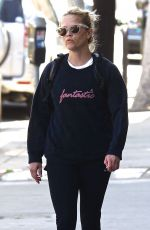 REESE WITHERSPOON Out and About in Brentwood 04/09/2018