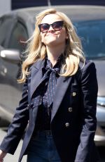 REESE WITHERSPOON Out Shopping in Brentwood 04/16/2018