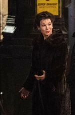 RENEE ZELLWEGER on the Set of New Judy Garland Biopic in London 04/22/2018