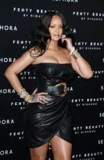 RIHANNA at Fenty by Rihanna Makeup Launch in Milan 04/05/2018