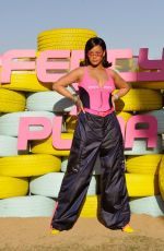 RIHANNA at Fenty x Puma Coachella Party in Palm Springs 04/14/2018