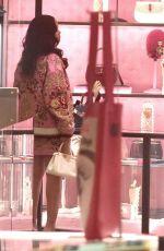 RIHANNA Out Shopping in Milan 04/06/2018