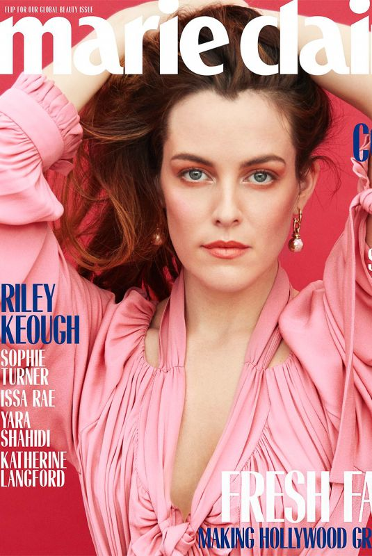 RILEY KEOUGH in Marie Claire Magazine, May 2018