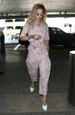 RITA ORA at Los Angeles International Airport 04/16/2018