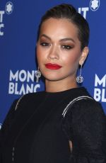 RITA ORA at Montblanc Celebrates 75th Anniversary of Le Petit Prince in New York 04/04/2018
