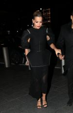 RITA ORA Night Out in New York 04/04/2018