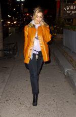 RITA ORA Night Out in New York 04/07/2018
