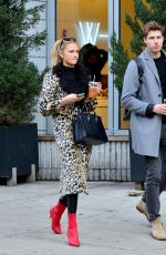 ROMEE STRIJD and Laurens Van Leeuwen Out for Lunch at Sweetgreen in New York 04/02/2018