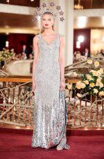 ROMEE STRIJD at Dolce & Gabbana Alta Moda Fashion Show in New York 04/08/2018