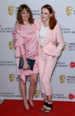 RONA MORISON at British Academy Television and Craft Awards Nominees Party in London 04/19/2018
