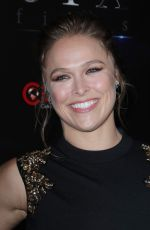 RONDA ROUSEY at An Evening with STXFilms Presentation at Cinemacon in Las Vegas 04/24/2018