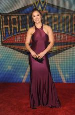 RONDA ROUSEY at WWE 2018 Hall of Fame Induction Ceremony in New Orleans 04/06/2018