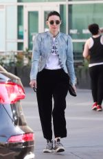 ROONEY MARA Out and About in Hollywood 04/07/2018