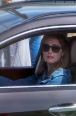 ROSE BYRNE on the Set of Instant Family in Marietta 04/02/2018