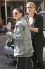 ROSE MCGOWAN Out and About in New York 04/11/2018