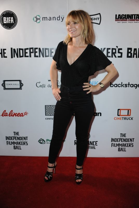 ROSIE FELLNER at Raindance Independent Filmmaker's Ball in London 04/18/2018