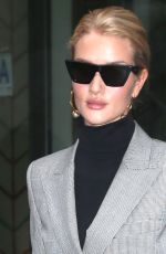 ROSIE HUNTINGTON-WHITELEY Out and About in New York 04/04/2018