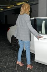 ROSIE HUTINGTON-WHITELEY Leaves E. Baldi in Beverly Hills 04/11/2018
