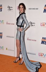 RUBY MODINE at Race to Erase MS Gala 2018 in Los Angeles 04/20/2018
