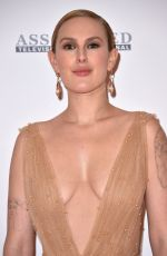 RUMER WILLIS at Race to Erase MS Gala 2018 in Los Angeles 04/20/2018