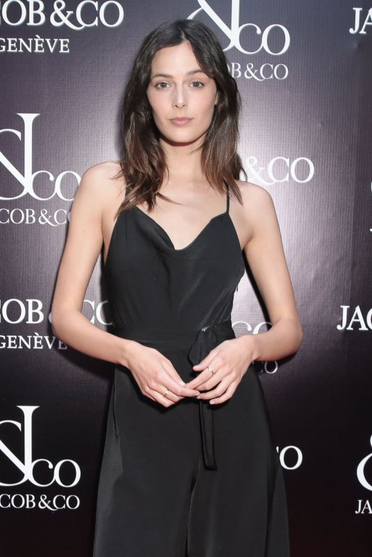 SADIE NEWMAN at Jacob & Co. Flagship Store Re-opening in New York 04/26/2018