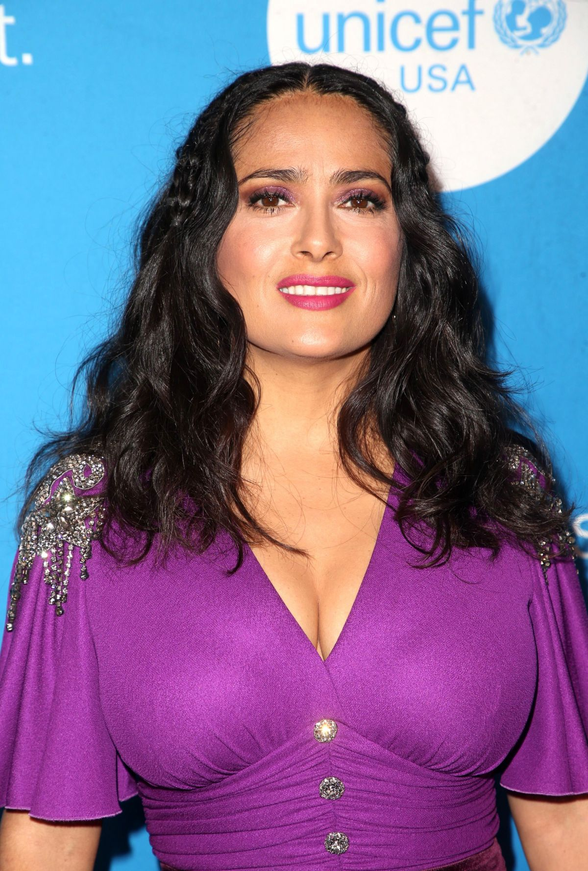 SALMA HAYEK at Unicef Ball in Los Angeles 04/14/2018 ... Salma Hayek