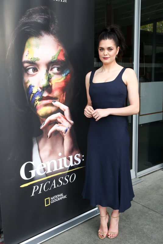 SAMANTHA COLLEY at Genius: Picasso Dinner and Conversation in Los Angeles 04/15/2018