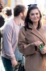 SAMANTHA COLLEY Leaves Build Series in New York 04/20/2018