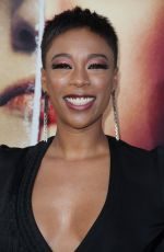 "SAMIRA WILEY at The Handmaid""s Tale Season 2 Premiere in Hollywood 04/19/2018"