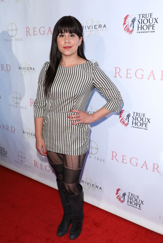 SANTANA DEMPSEY at Regard Magazine Spring 2018 Cover Unveiling Party in West Hollywood 04/03/2018