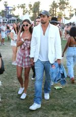 SARA SAMPAIO at 2018 Coachella Valley Music and Arts Festival