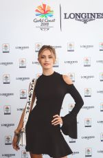 SARAH ELLEN at Longines Records Club Luncheon in Gold Coast 04/10/2018